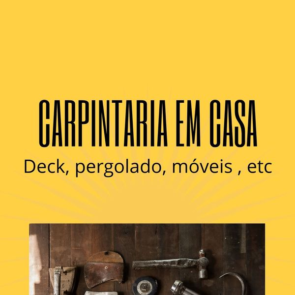 Imagem principal do produto Carpintaria em casa