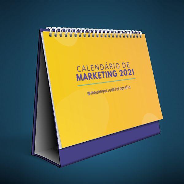 Imagem principal do produto Calendário de Marketing Para Fotógrafos   2021