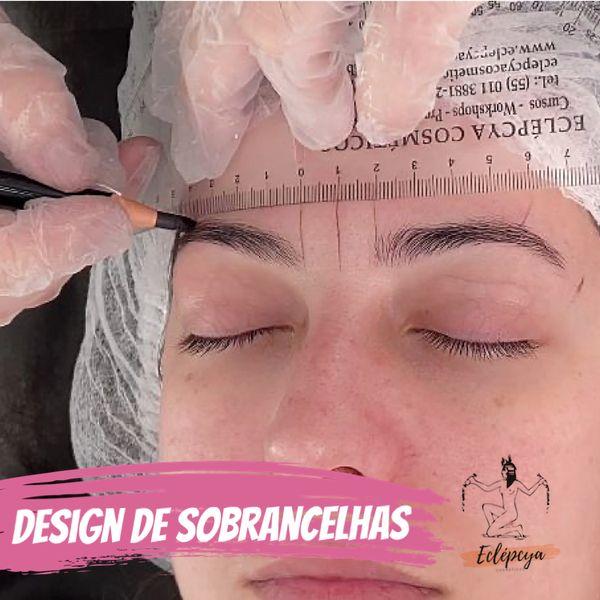 Imagem principal do produto Curso Design de sobrancelhas - Iniciante