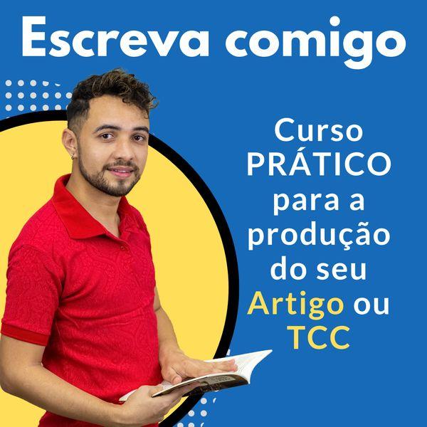 Imagem principal do produto Escreva comigo: curso prático para a produção de ARTIGO e TCC.