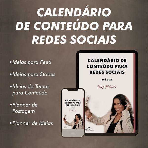 Imagem principal do produto Calendário de Conteúdo para Redes Sociais