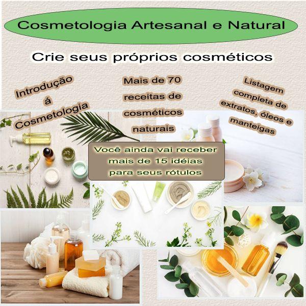Imagem principal do produto e-Book Cosmética Artesanal e Natural