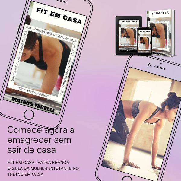 Imagem principal do produto FIT EM CASA (INICIANTE FAIXA BRANCA) - MATEUS TERELLI