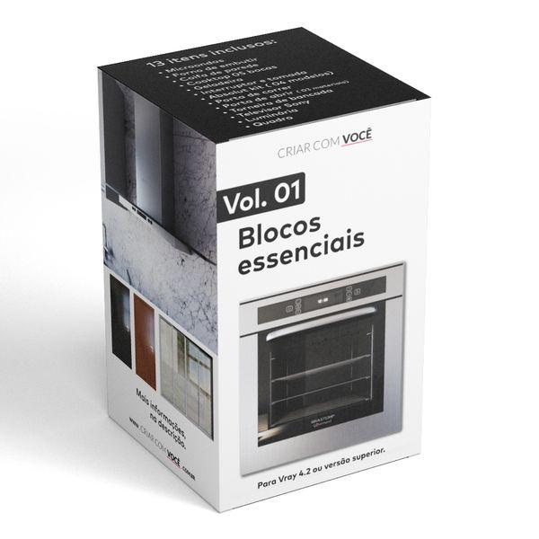 Imagem principal do produto Blocos essenciais para Sketchup e Vray