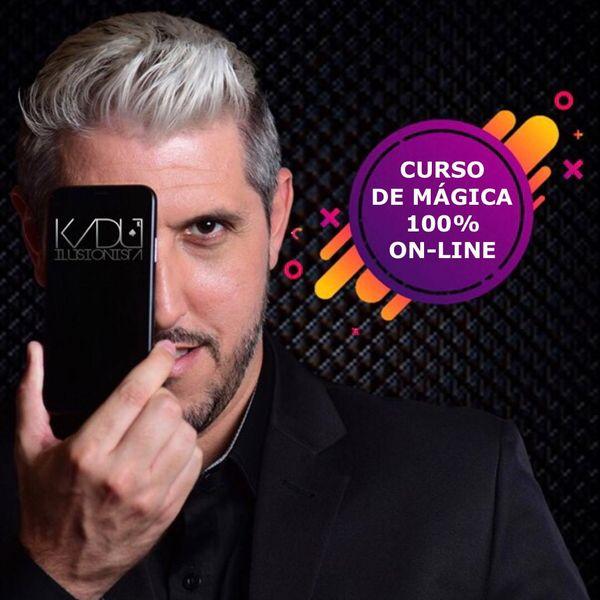 Imagem principal do produto Curso de Mágicas 100% online