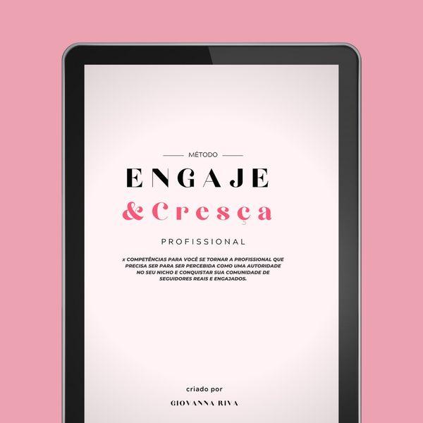 Imagem principal do produto E-book Método Engaje&Cresça PRO