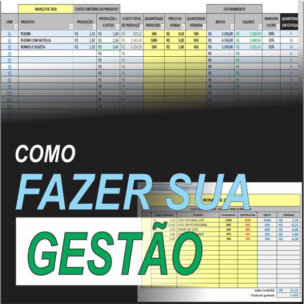Imagem principal do produto PLANILHA PARA GESTÃO