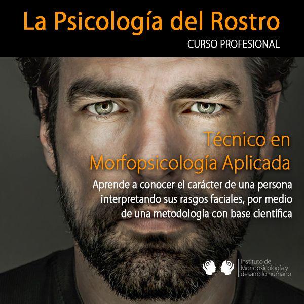 Imagem principal do produto Curso La Psicología del Rostro. Técnico en Morfopsicología Aplicada (0001)