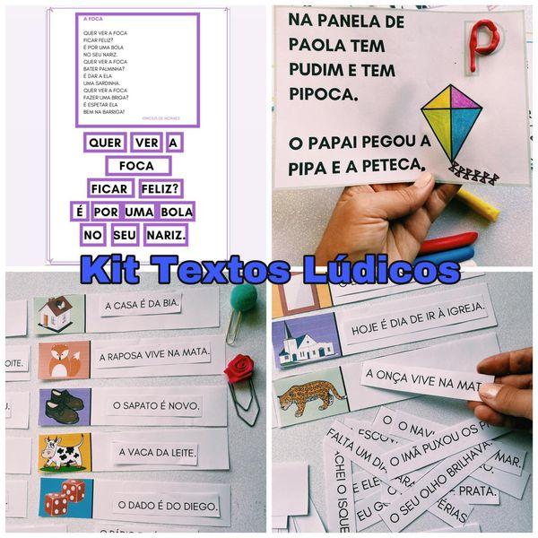 Imagem principal do produto Kit Texto Lúdico