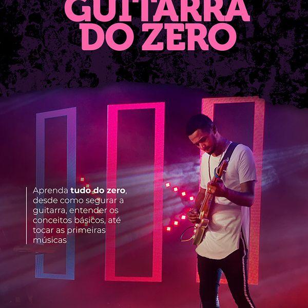 Imagem principal do produto GUITARRA DO ZERO