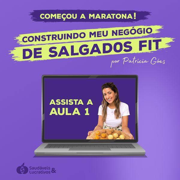 Imagem principal do produto Gravação Maratona MAR21 + Ebook 40 Receitas Fit