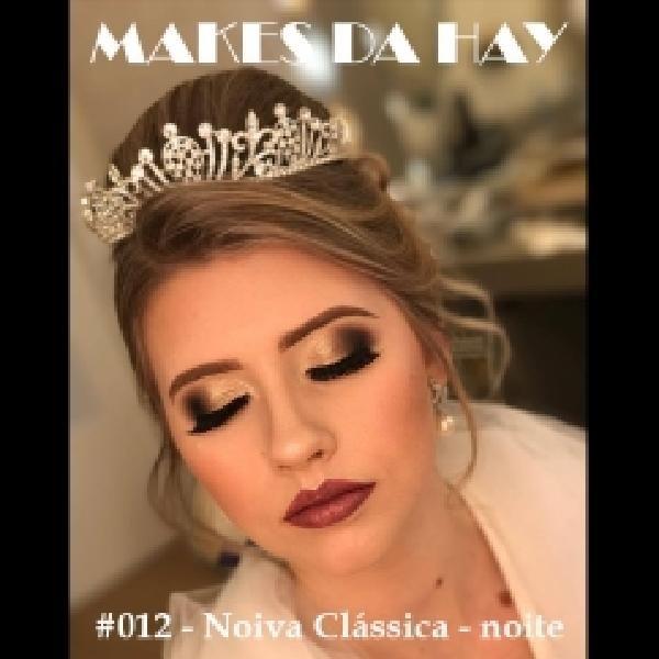 Imagem principal do produto Makes da Hay #012 - Noiva Clássica - noite