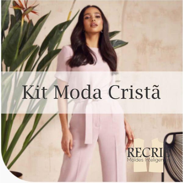 Imagem principal do produto KIT MODA CRISTÃ - Recrie Moda - Moldes Inteligentes