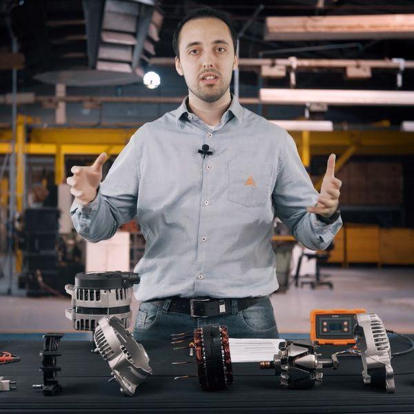 Imagem principal do produto Curso completo de alternadores IKRO