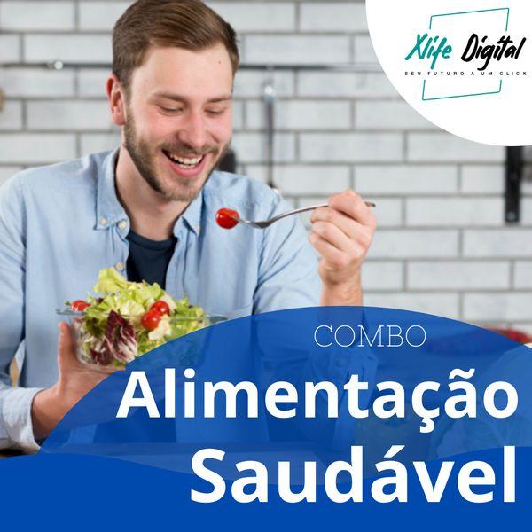 Imagem principal do produto Curso Alimentação Saudável - COMBO