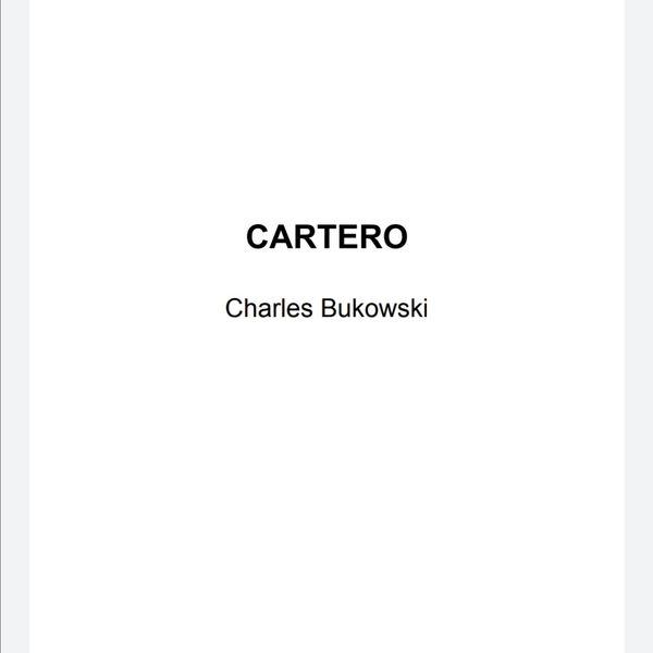 Imagem principal do produto El cartero libro
