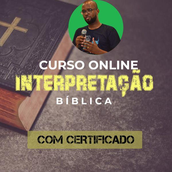Imagem principal do produto Interpretação Bíblica - Curso Online