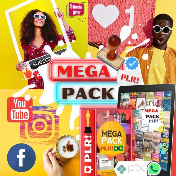 Imagem principal do produto MEGA PACK-PLR + BÔNUS