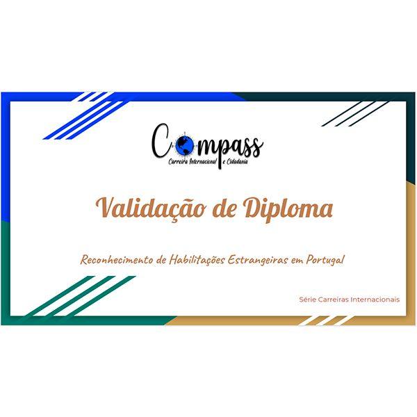 Imagem principal do produto Validação de Diploma brasileiro em Portugal