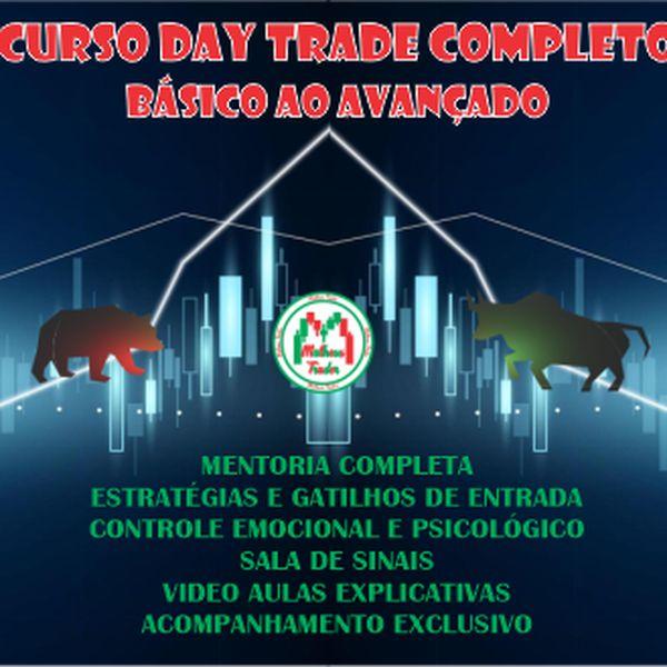 Imagem principal do produto CURSO DO BÁSICO AVANÇADO - DAY TRADE / OPÇÕES BINÁRIAS / CONTROLE PSICOLÓGICO E EMOCIONAL