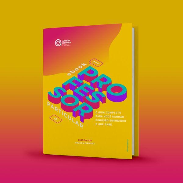 Imagem principal do produto E-book Professor particular - o guia completo para você ganhar dinheiro ensinando o que sabe