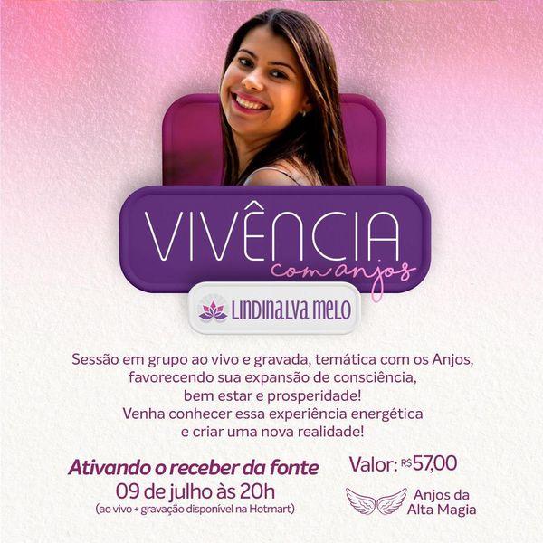 Imagem principal do produto ATIVANDO O RECEBER DA FONTE COM OS ANJOS - VIVÊNCIA ENERGÉTICA
