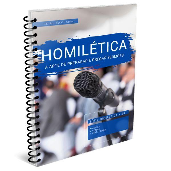 Imagem principal do produto CURSO DE HOMILÉTICA - A ARTE DE PREPARAR E PREGAR SERMÕES