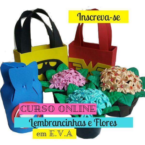 Imagem principal do produto Curso Lembrancinhas e Flores em E.V.A