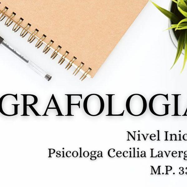 "Imagem principal do produto ""Grafología"" (Nivel Inicial)"