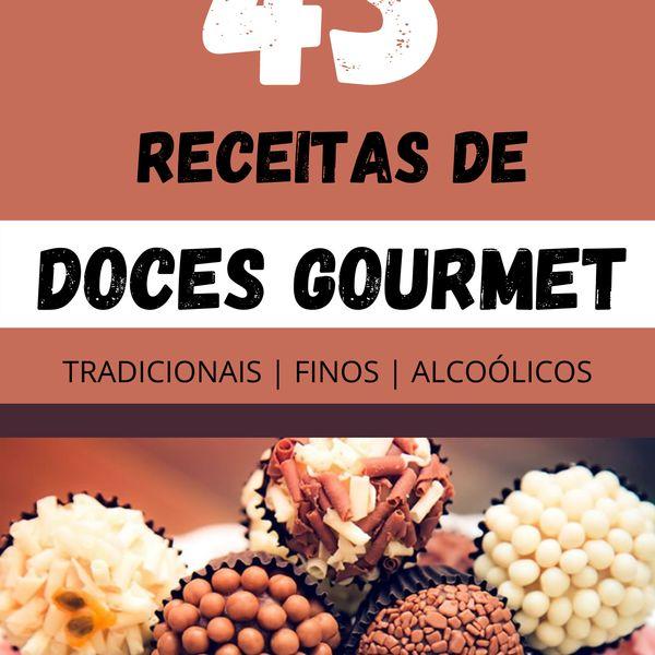 Imagem principal do produto 43 Receitas de Doces Gourmet