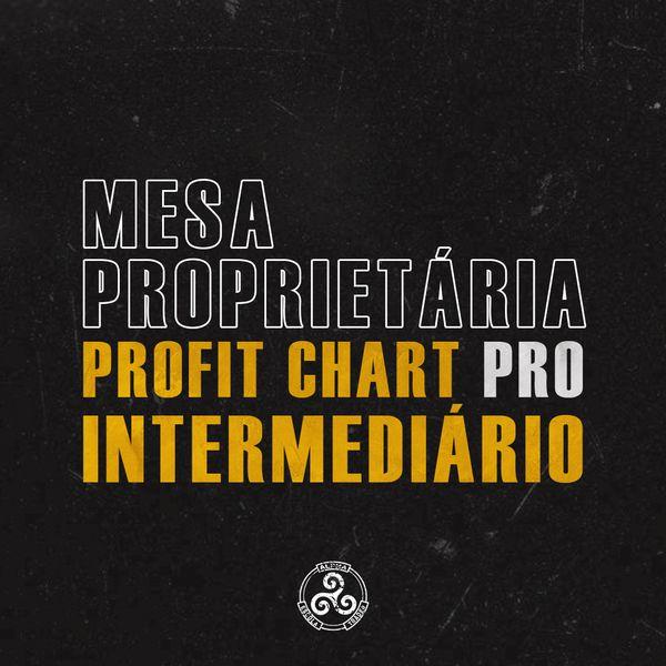 Imagem principal do produto Mesa proprietária Alpha - ProfitChart PRO Intermediário