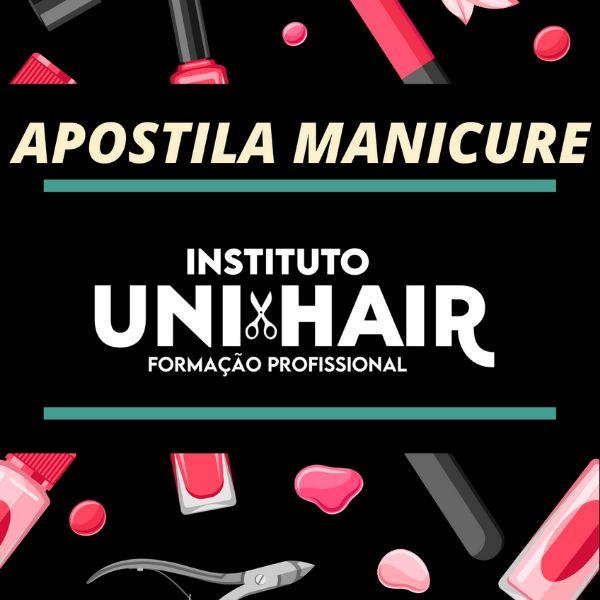 Imagem principal do produto Apostila  Manicure Curso Unhas Decoradas