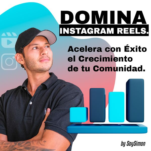 Imagem principal do produto Domina Instagram Reels y Acelera El Crecimiento De Tu Comunidad