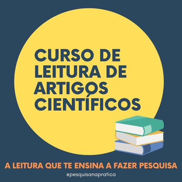 Imagem principal do produto Curso de Leitura de Artigos Científicos