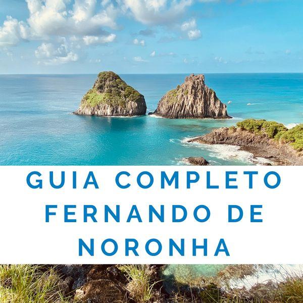 Imagem principal do produto Guia completo de Fernando de Noronha. TUDO sobre a ilha!