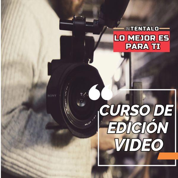 Imagem principal do produto Curso de edición de video