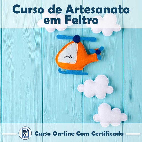 Imagem principal do produto Curso Artesanato em Feltro
