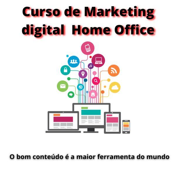 Imagem principal do produto Curso de Marketing digital Home Office