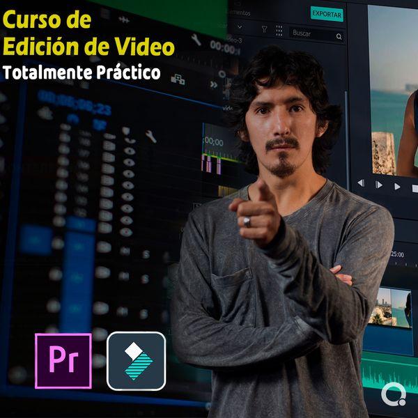 Imagem principal do produto Edición de video en Adobe Premiere Pro/Filmora