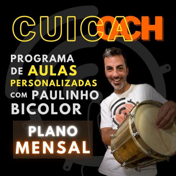 Imagem principal do produto CUICOACH ::::: Personal Cuíca Trainer ::::: Plano mensal [PROMO]