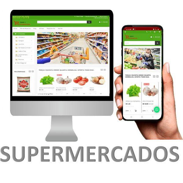 Imagem principal do produto Assinatura Loja Supermercado Aluguel Aplicativo e Site SaaS Cashback