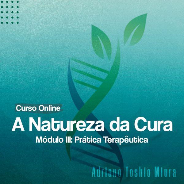 Imagem principal do produto A Natureza da Cura - Módulo III Prática Terapêutica