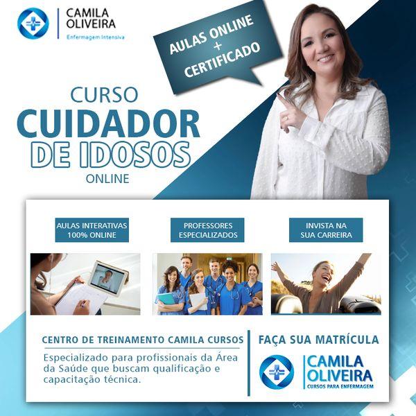 Imagem principal do produto Curso de Cuidador de IDOSO