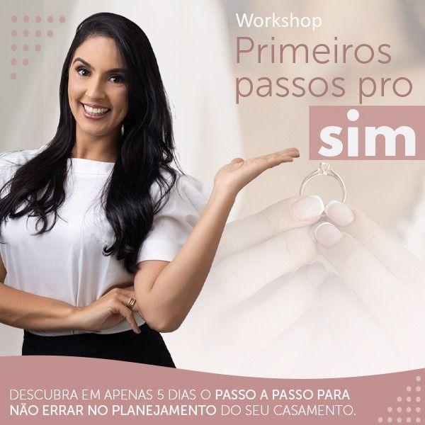 Imagem principal do produto WORKSHOP PRIMEIROS PASSOS PRO SIM