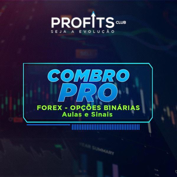 Imagem principal do produto Combo PRO Forex e Opções Binárias - ProfitsClub