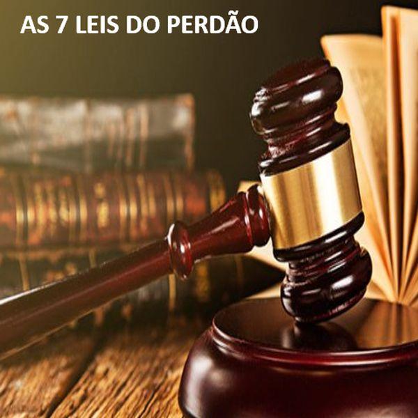 Imagem principal do produto As 7 Leis do Perdão