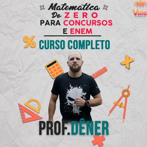 Imagem principal do produto CURSO DE MATEMÁTICA PARA CONCURSOS E ENEM