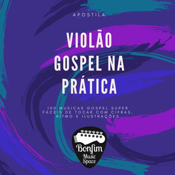 Imagem principal do produto Apostila violão gospel na prática