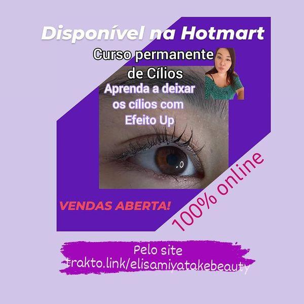 Imagem principal do produto Curso Permanente de Cílios