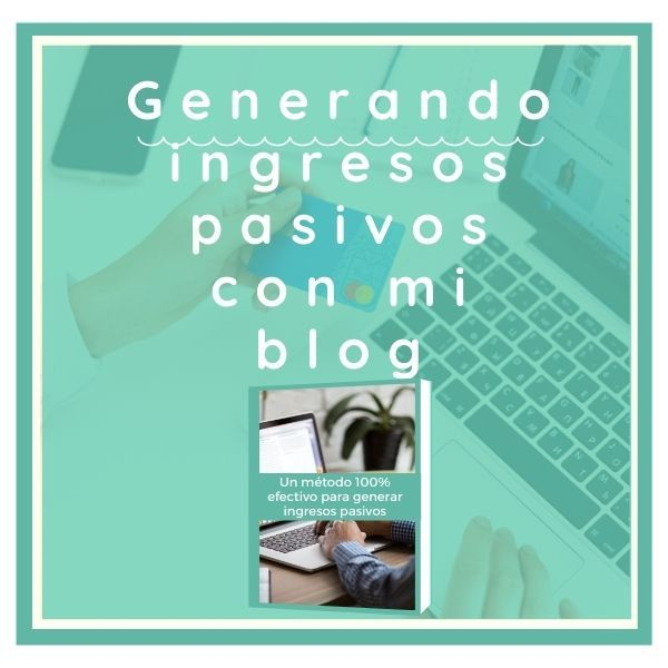 Imagem principal do produto Generando ingresos pasivos con mi blog